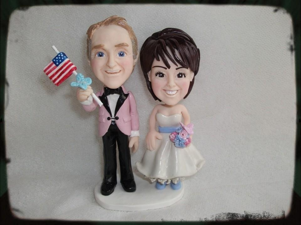 Americanflagweddingtoppers