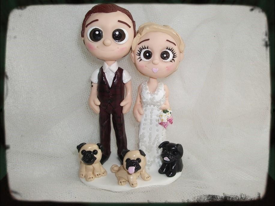 Bride&GroomwithDoggies_