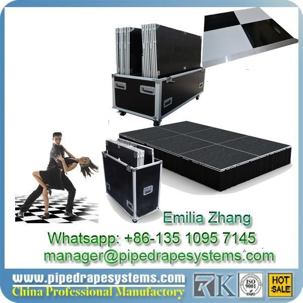 Event decor WHATSAPP+86-13510957145COMPANY CONTACT FLIGHT CASE DANCE FLOOR PIPE AND DRAPE02