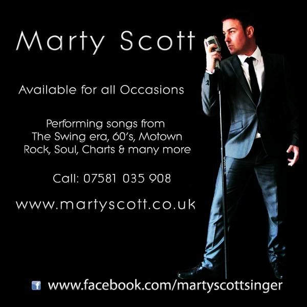 Marty Scott - The UK's Leading Wedding Singer