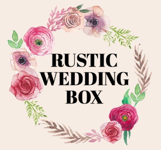 Rustic Wedding Box