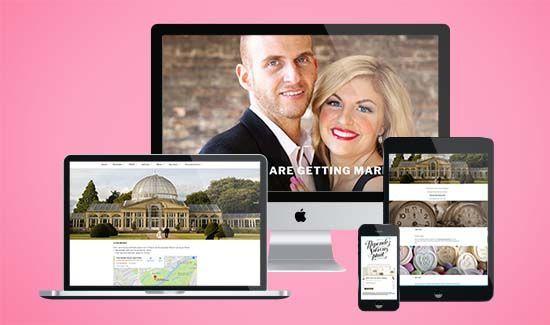 Simple Wedding Websites