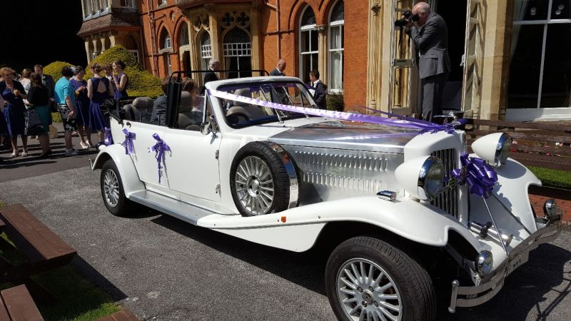 Beauford Car for Weddings