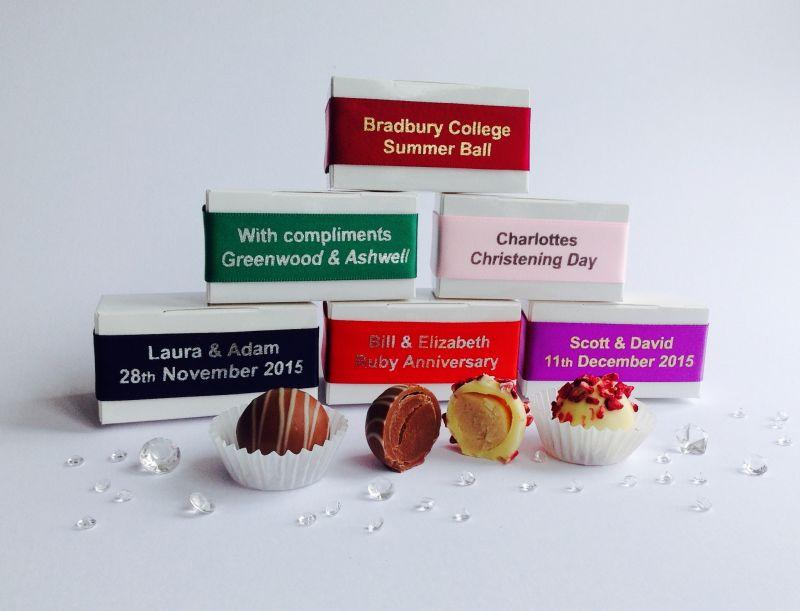 The Chocolate Favour Box