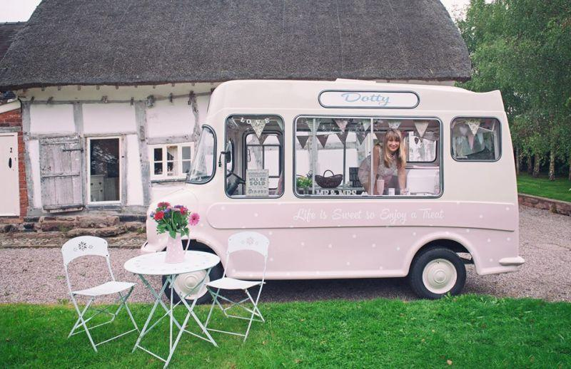 Dotty About Ice Cream Vintage Ice Cream Van Hire
