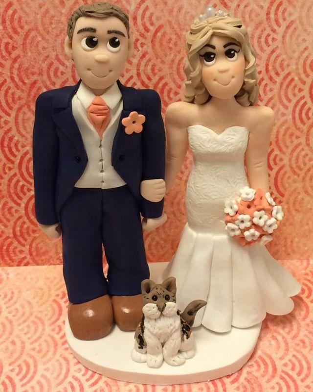 Adorable Crafts Personalised Cake Toppers