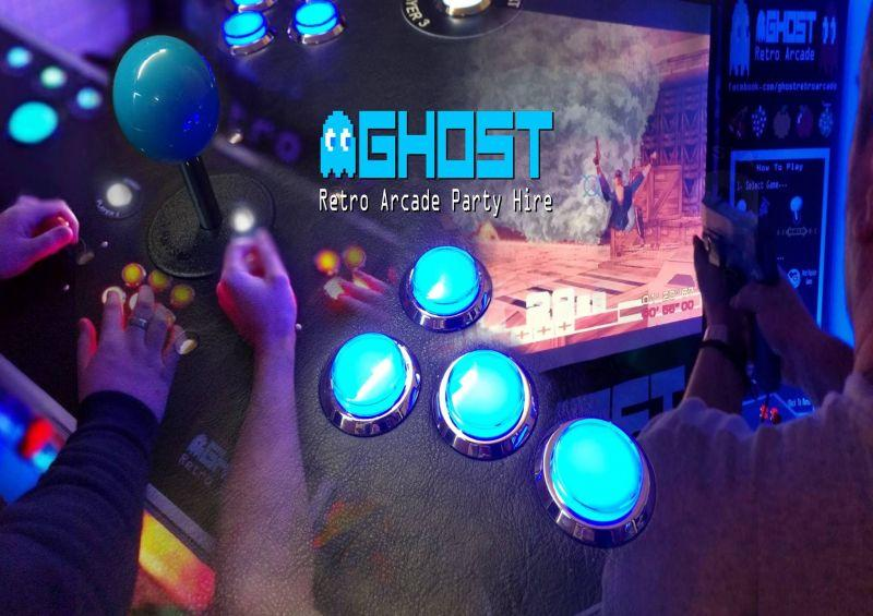 Ghost Retro Arcade Hire