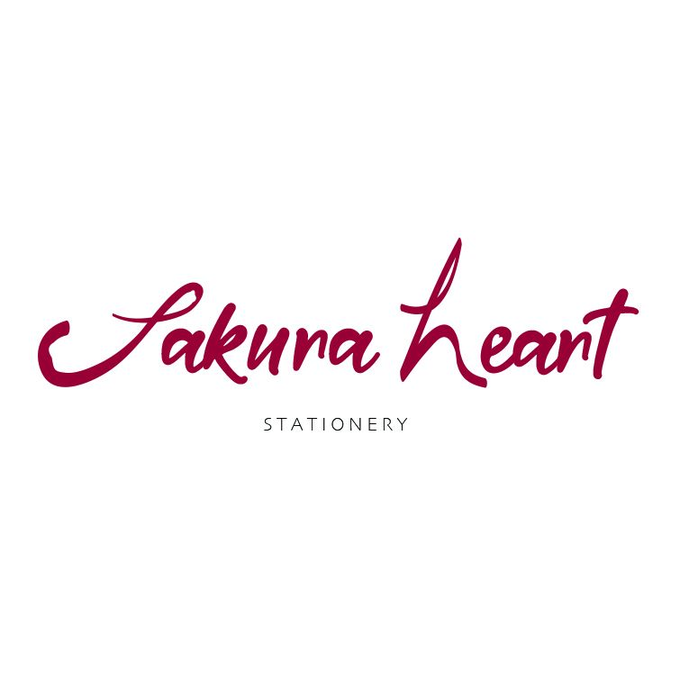 Sakura Heart Stationery