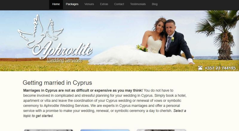 Aphrodite Wedding Services Ltd