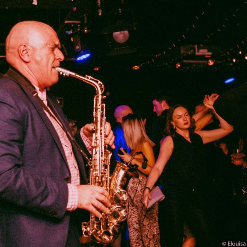 James Banahan - Saxophone  player for hire