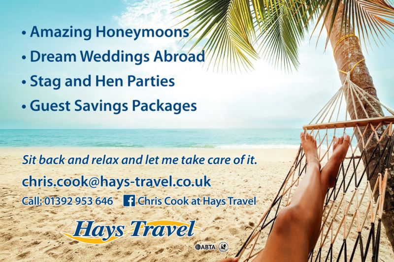 Chris Cook at Hays Travel