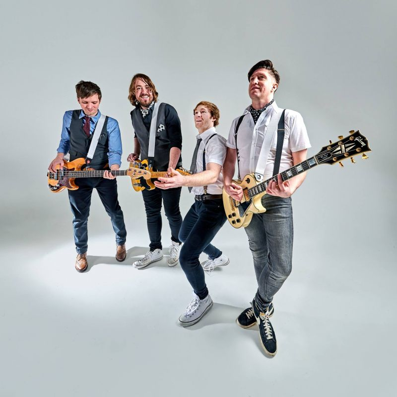 The Review | Wedding and Corporate Party Band