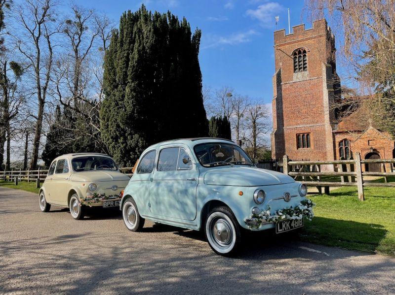 Lil & Blue - Vintage Fiat 500 Hire