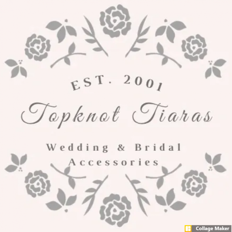 Topknot Tiaras & Veils