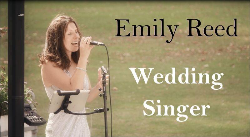 Emily Reed - Wedding Singer Sussex, Kent, Surrey